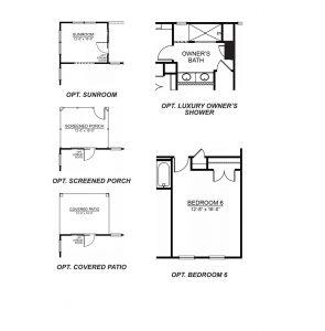 DR Horton Summit Floor Plan Options